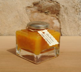 Orange, sucre de canne, gingembre